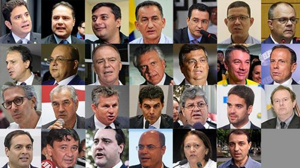 27 governadores tomam posse nesta terça-feira