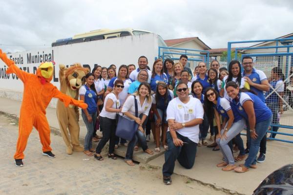 Prefeitura de União dos Palmares realiza campanha de matrículas para as escolas municipais.