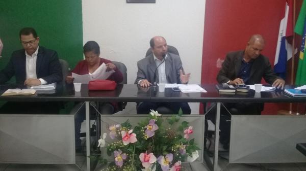 Vereadores de União aprovaram orçamento de 2019.