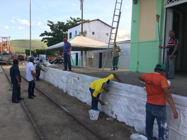 Povoado Rocha Cavalcante recebe reparos estruturais e nova iluminação da Prefeitura de União dos Palmares.