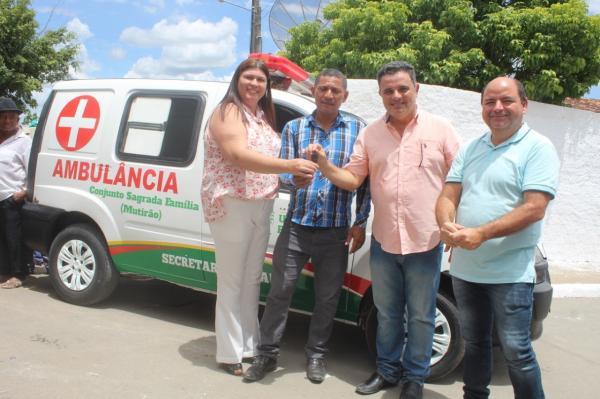 Prefeitura de União dos Palmares equipa a saúde do município com novos veículos.