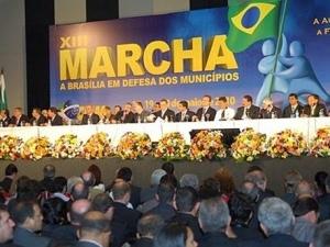 Caravana dos Prefeitos em Brasília nesta 2ª feira