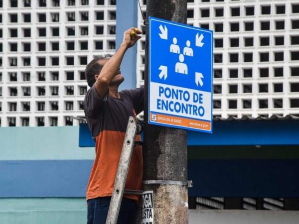 Pinheiro,Mutange e Bebedouro recebem placas de alerta