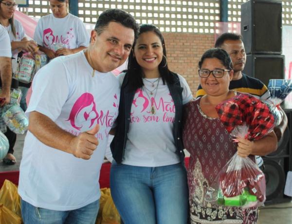 Prefeitura de União dos Palmares leva Dia das Mães às comunidades