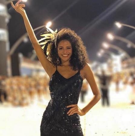Miss Brasil fala da emoção de desfilar pela 1ª vez em escola de samba de SP: 'ansiosa'