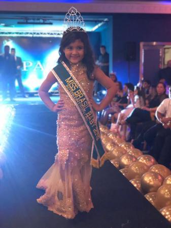 Miss União é Miss Brasil Baby, no Rio de Janeiro.