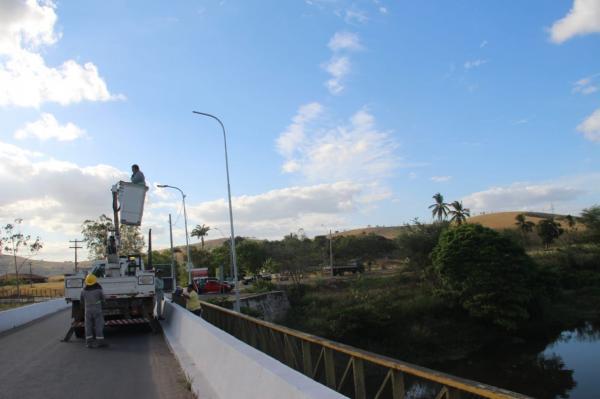Prefeitura ilumina trecho Rua da Ponte/Taquari, sonho antigo e rota turística importante para União.