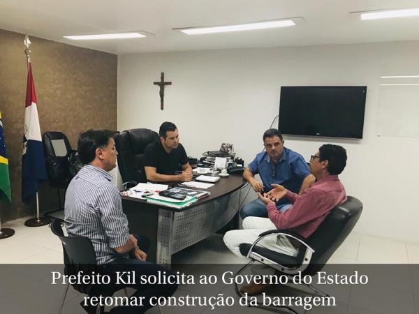 Governo de Alagoas retoma projeto da barragem em  União dos Palmares.