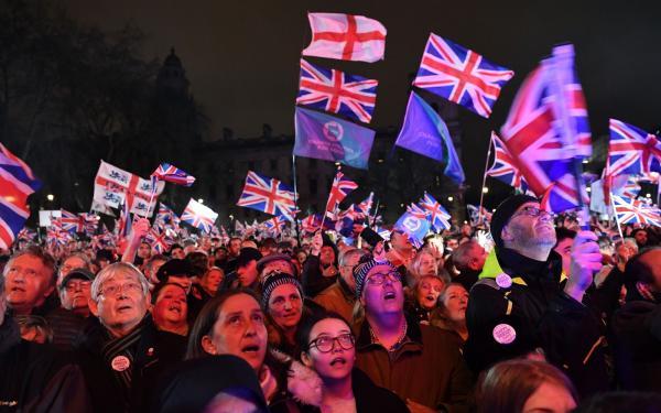 Reino Unido está fora da União europeia.