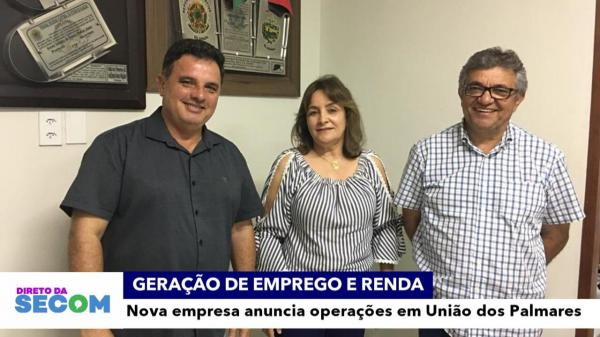 Prefeitura de União anuncia instalação de indústria de laticínios.