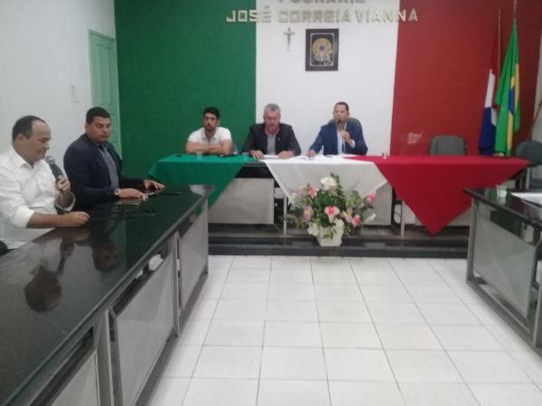 Empresário palmarino não compareceu na sessão da Câmara Municipal.