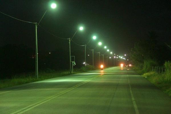 Prefeitura de União ilumina Rua da Ponte