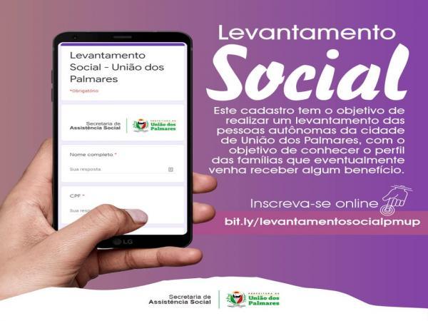 A Prefeitura de União dos Palmares pede a colaboração da sociedade em manter o isolamento social.