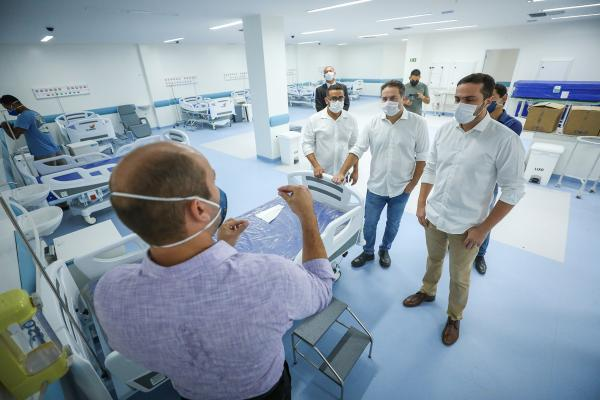 Para casos positivos de Covid-19, Hospital Metropolitano começa a operar no sábado (16)