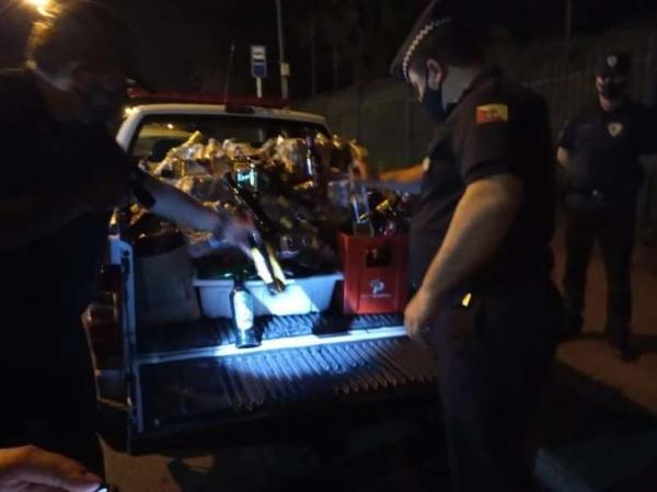 Festa com 700 pessoas teve 03 presos.