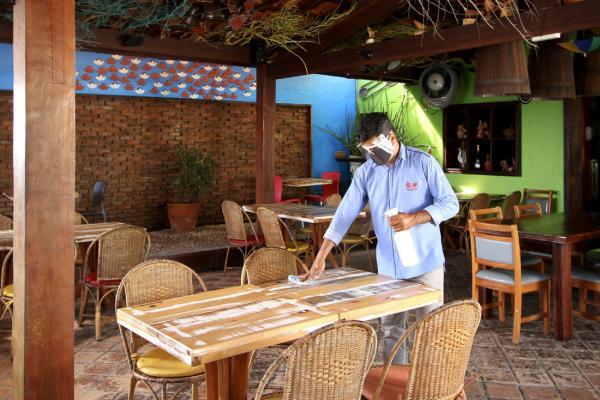 Como ficarão os restaurantes após abertura