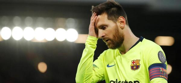 Messi quer deixar o Barcelona.
