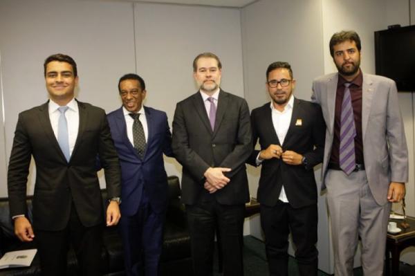 Precatórios do FUNDEF: JHC é recebido pelo Presidente do STF, Ministro Dias Toffoli