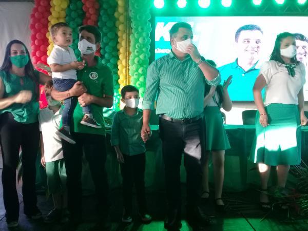 Convenção do MDB foi ontem, dia 15, no Estádio Orlando Gomes de Barros.