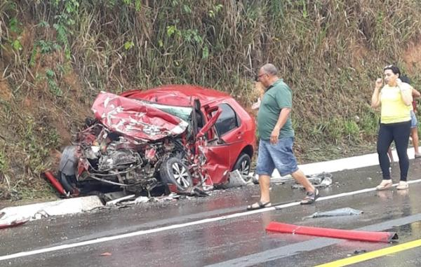 Acidente com vítima fatal, em Branquinha.